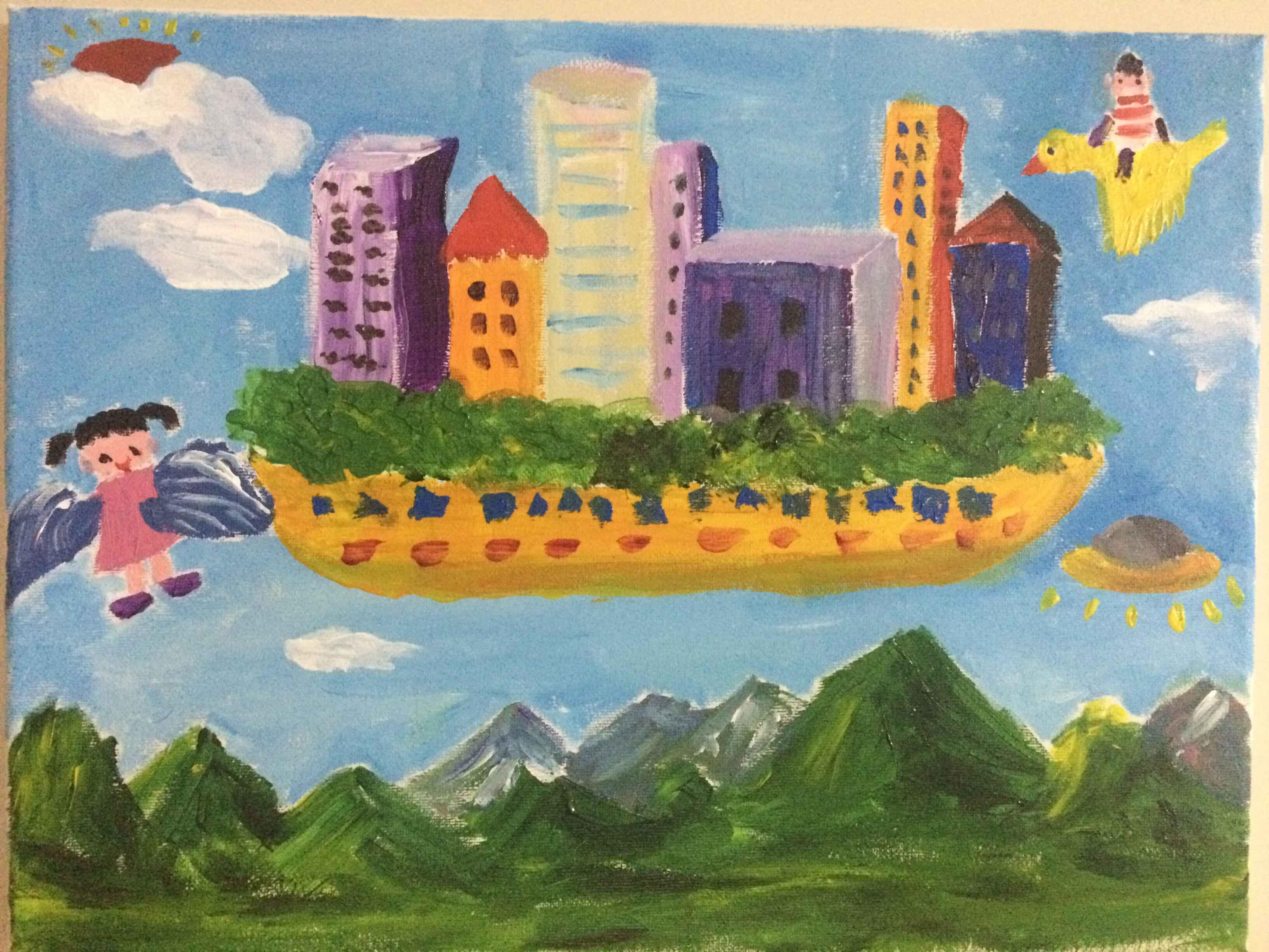 想·未来——我的世界网友作品:天空之城