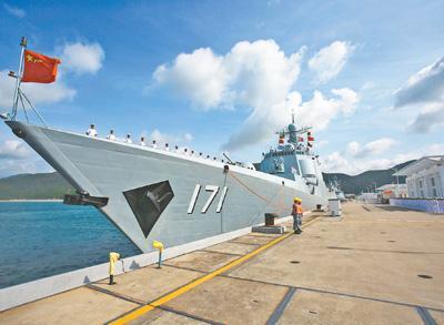 海军第二十七批护航编队启航 赴亚丁湾执行任务