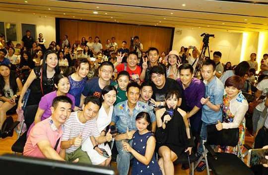 摄影界老司机任达华空降广州分享摄影集背后的故事