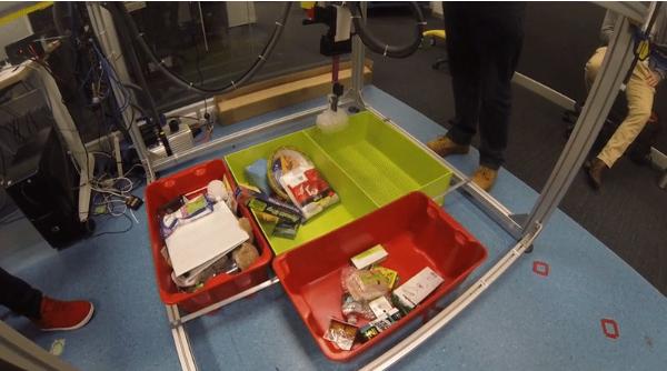 亚马逊机器人挑战赛冠军:完成物品分拣只需7张图
