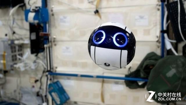 日本无人机从国际空间站发来第一张照片