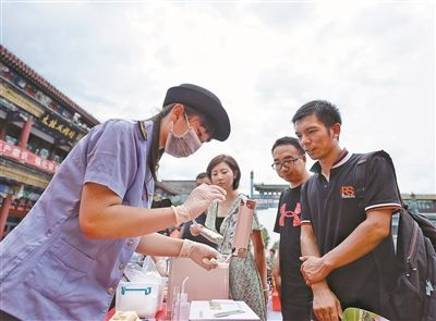 北京东城区:检测食品安全可线上提申请 可检测40多大类食品