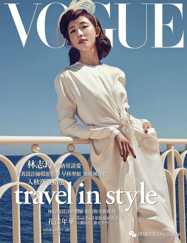 志玲姐姐美上天的封面 是假的摩洛哥风情吗?
