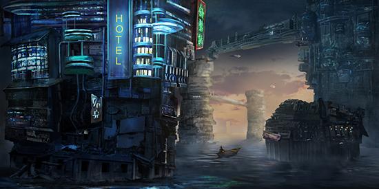 想·未来——我的世界网友作品:海世界馆