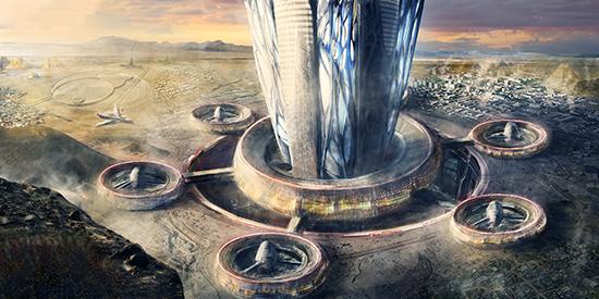 想·未来——我的世界网友作品:航天发射场
