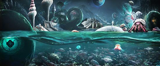 想·未来——我的世界网友作品:世界之洋