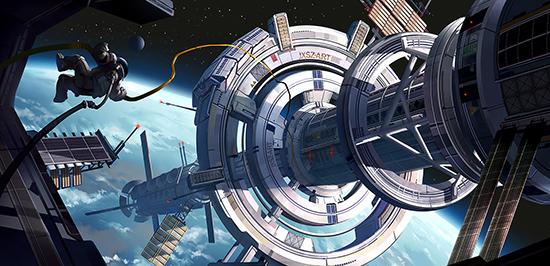 想·未来——我的世界网友作品:太空远航