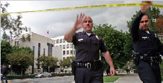 亚裔男子在中国驻洛杉矶总领馆前开枪后自杀