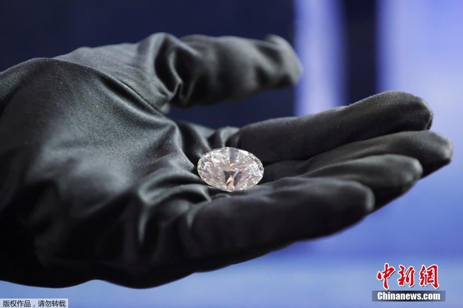 俄罗斯展示51.38克拉王朝钻石 原石重179克拉