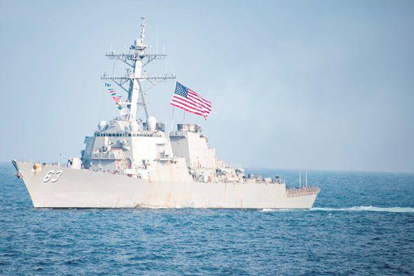 美舰士兵失踪案搅和南海 美日搜救地点不详