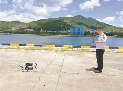 大亚湾海事局引入无人机巡查管辖海域