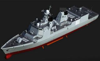 中国新052E型驱逐舰张这样?