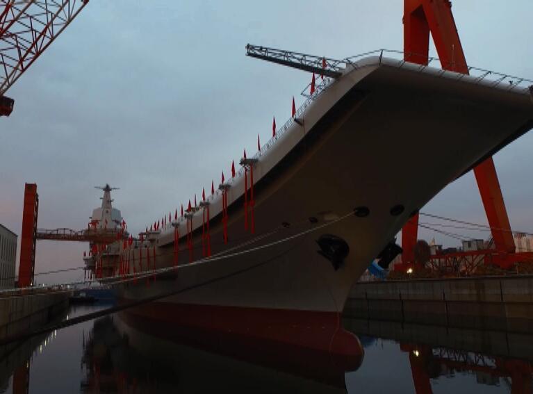 国产航母研制总指挥:下个月或提前进入系泊试验