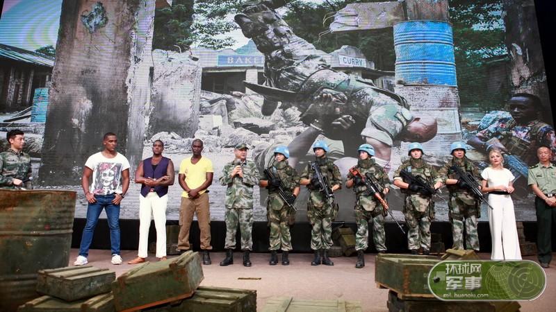 首部维和军事动作电影《中国蓝盔》即将上映