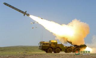 直击长剑10巡航导弹发射瞬间