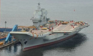 曝国产航母开始测试动力系统
