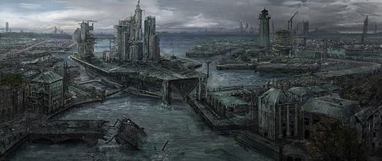 想·未来——我的世界网友作品:废墟