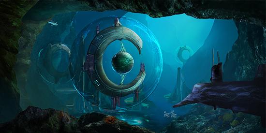 想·未来——我的世界网友作品:海洋环