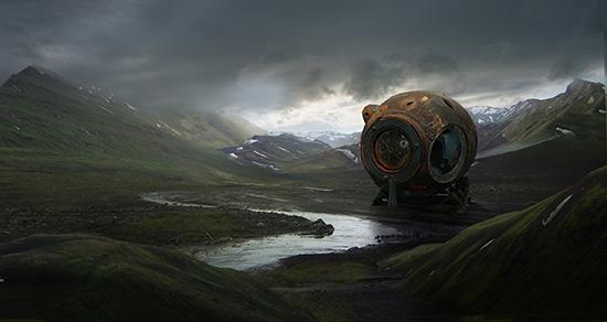 想·未来——我的世界网友作品:水居