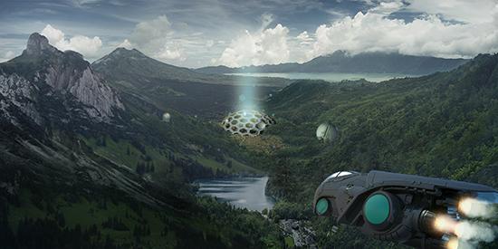 想·未来——我的世界网友作品:堡垒