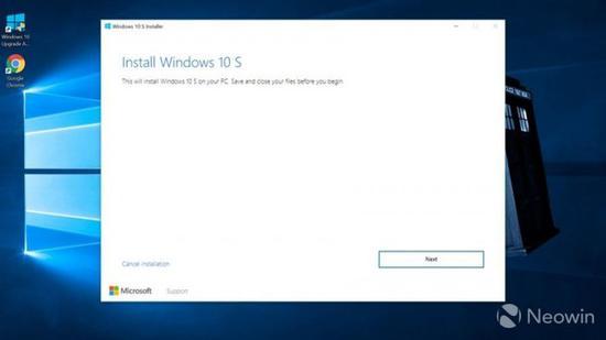 所有人都可装!微软公开Windows 10 S镜像下载!