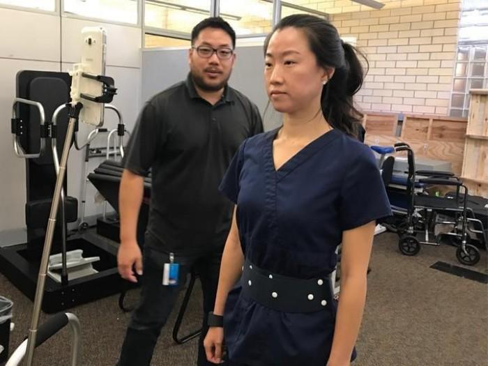 这款智能腰带将帮助帕金森病人维持身体平衡