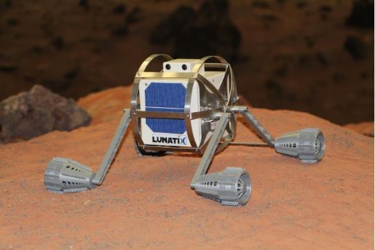 Lunatix机器人将把AR游戏带到月球