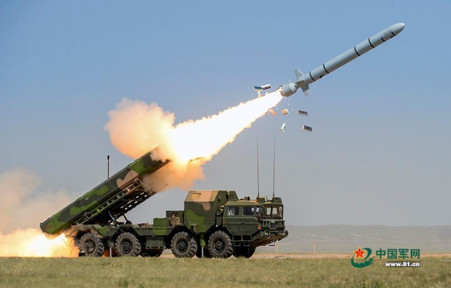 """美媒:中国演练""""导弹打萨德"""" 还进行反导试验"""