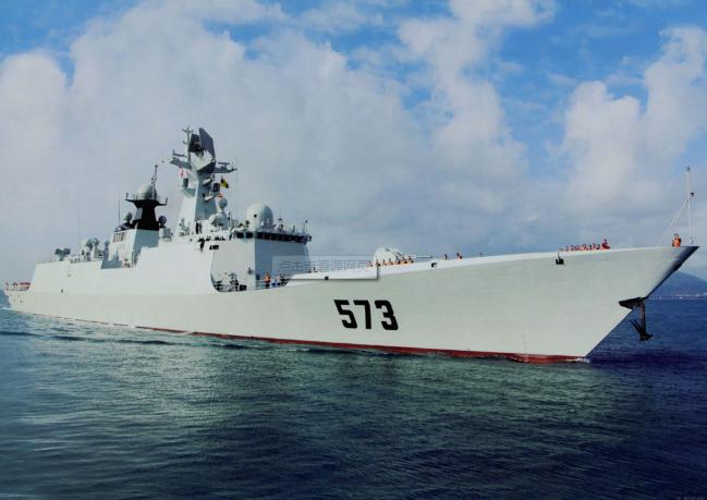 揭秘参与寻找美国水兵的柳州舰:今年刚驱离美舰