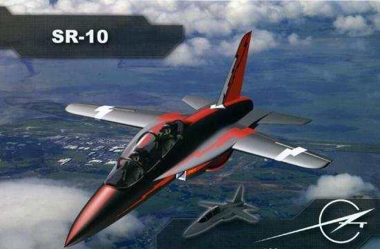 俄罗斯将SR-10教练机改装成SR-10无人机