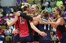 总决赛荷兰助中国女排提前进四强 美国连败出局