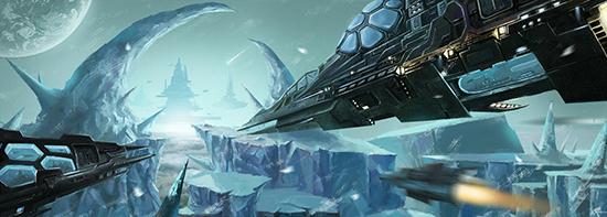 想·未来——我的世界网友作品:冰封星球1