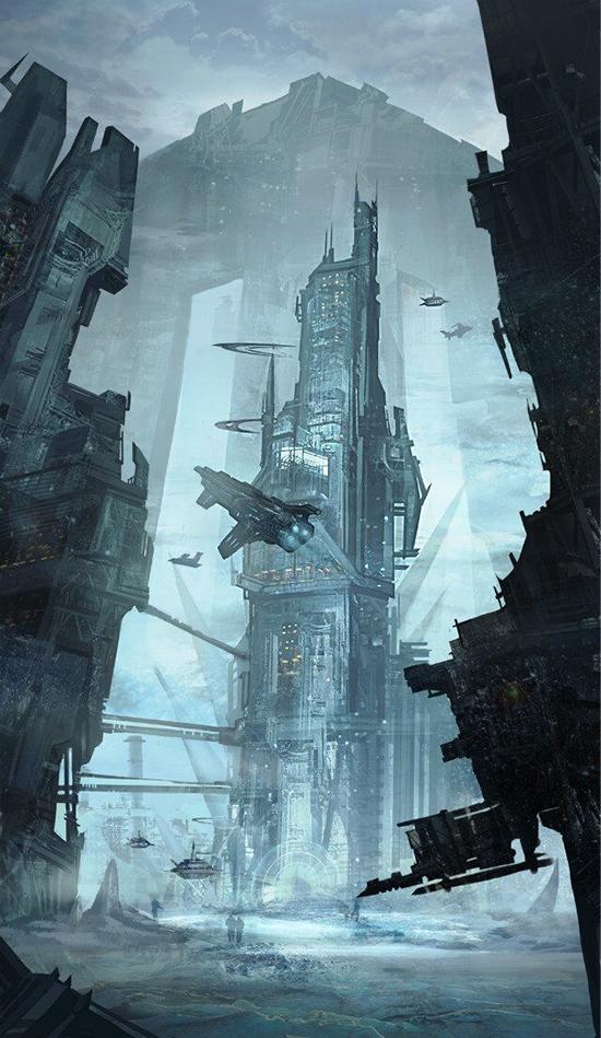 想·未来——我的世界网友作品:冰封星球2