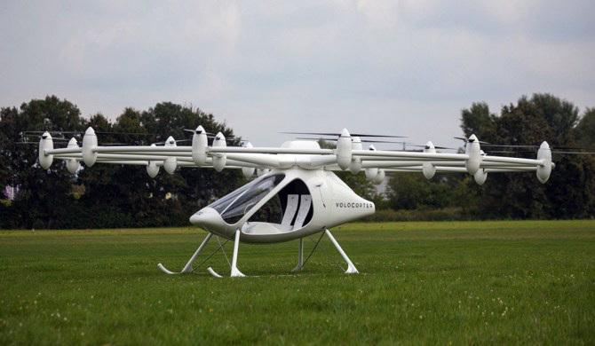 自动驾驶飞行出租Volocopter将于年末登陆迪拜
