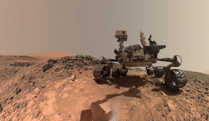"""五年过去了 """"好奇号""""仍在捕捉神秘的火星景象"""