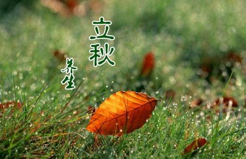 立秋养生八个小常识 防秋燥祛暑降温