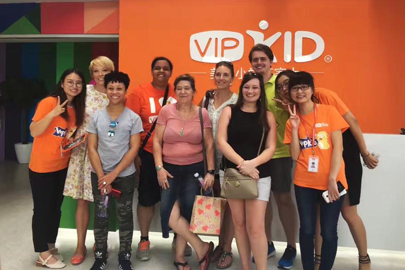VIPKID北美外教组团赴华家访 成就跨越2万公里的师生情缘