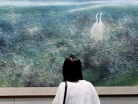 """""""全球水墨画大展""""在香港举行"""