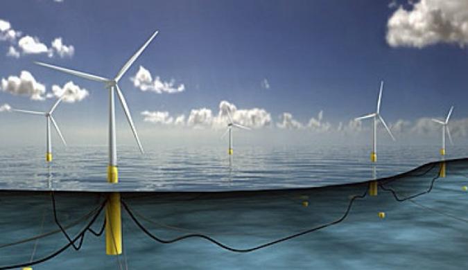 高175米的浮岛式发电机进入实验阶段 扇叶长75米