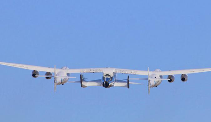 维珍银河的太空船二号及其母舰完成飞行测试