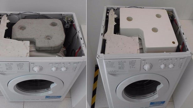 英国特伦特大学研究人员发明无混凝土洗衣机