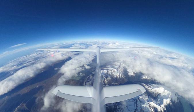 空客Perlan 2滑翔机成功挑战32500英尺飞行高度
