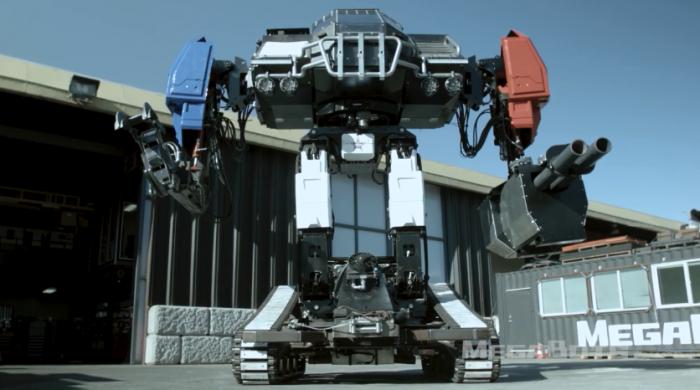 """美国MegaBots将与日本、中国机器人展开""""厮杀"""""""