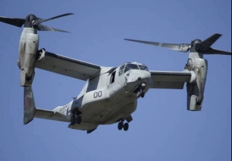 美军鱼鹰运输机在澳坠毁 至少3人失踪或已遇难