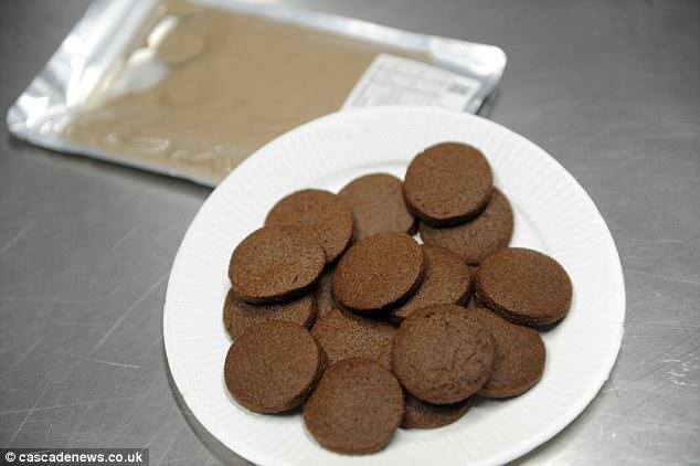 英国研究生用蟋蟀做饼干 口感与普通饼干无异