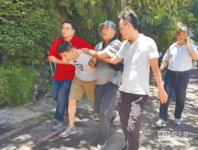 民进党党部失窃案韩国小毛贼被抓获 台作家:IS头目看到新闻非得笑死