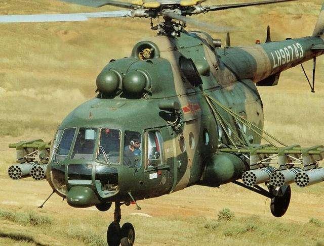 简氏:中国再购4架俄直升机 目前已装备84架