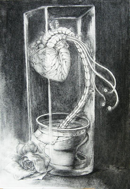想·未来——我的世界网友作品:种植心脏