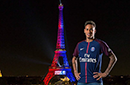 内马尔合影埃菲尔铁塔感谢巴黎:走心了!我很感动