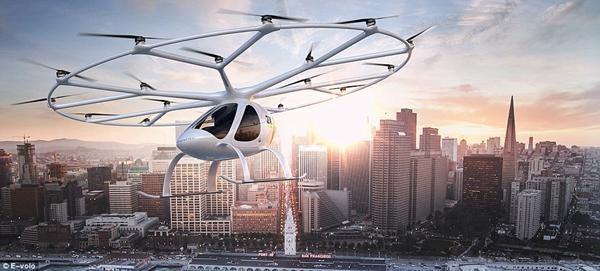 戴姆勒投资德国空中出租车 今年将在迪拜测试